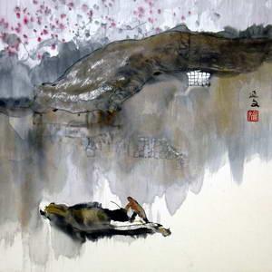 中国当代杰出山水画名家精品大展